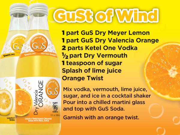 GuS Orange Martini