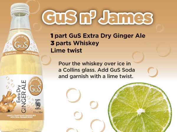 GuS Whiskey Ginger