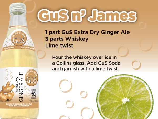 GuS Whiskey Ginger